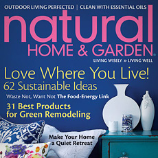 Natural Home Magzine May/June 2011