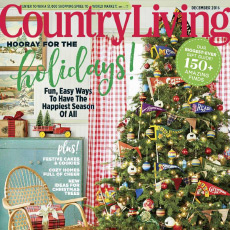 Country Living, December 2016