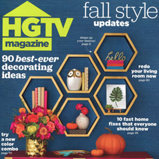 HGTV Magazine, October 2016