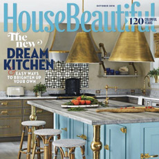 House Beautiful, October 2016