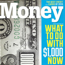 Money Magazine October 2015
