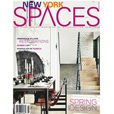New York Spaces, April 2017