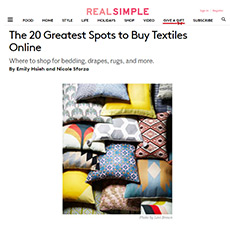 Real Simple Online, March 2017