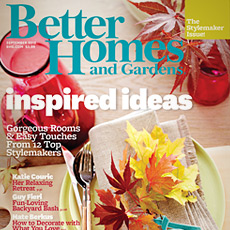 Better Homes & Gardens September 2012