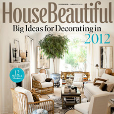 House Beautiful January 2012