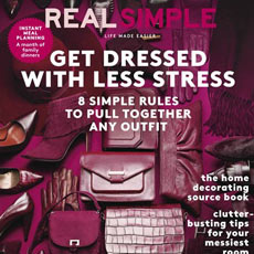 Real Simple Magazine September 2015