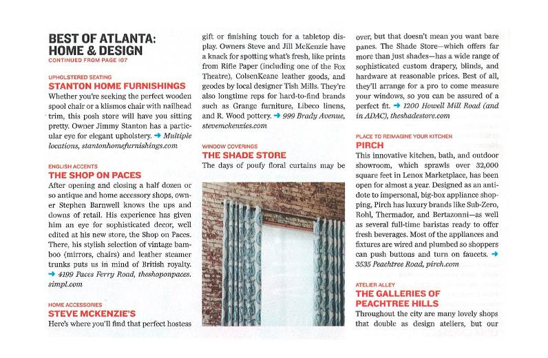 Atlanta Magazine 2015