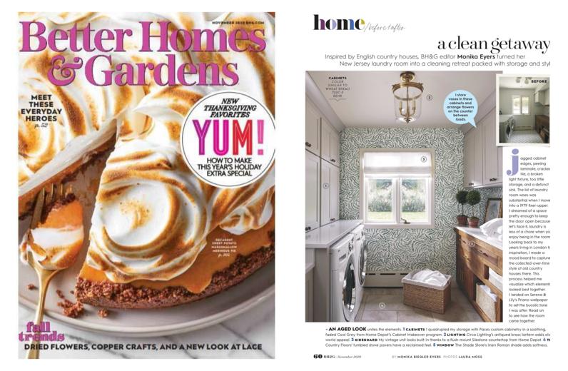 Better Homes & Gardens November 2020