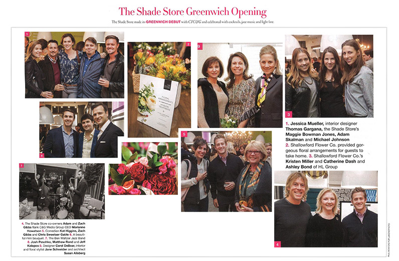 The Shade Store Greenwich Opening