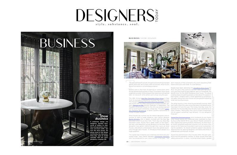 Designers Today Magazine October 2020