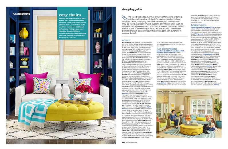 HGTV Magazine, January 2017