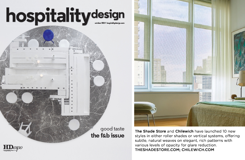 Hospitality Design October 2019