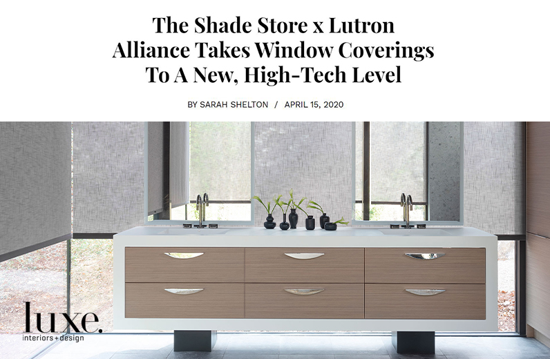 LUXE Interiors + Design April 15th 2020
