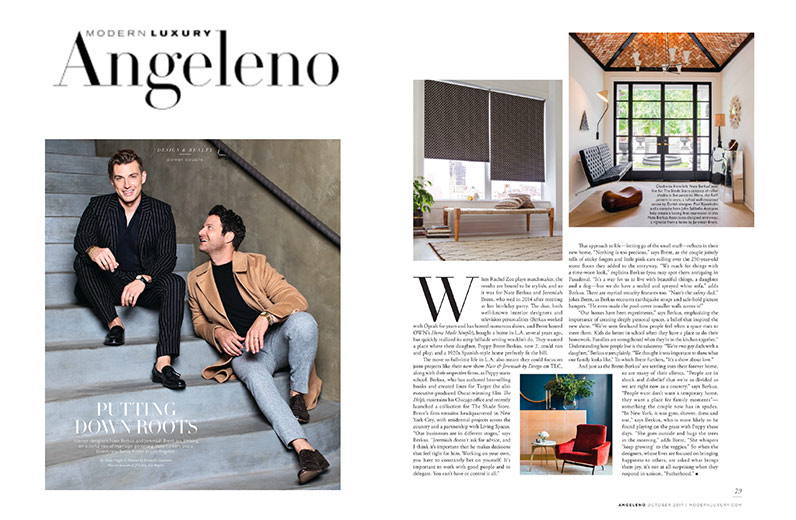 Angeleno Magazine October 2017 Nate Berkus