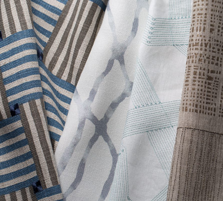 The Jeffrey Alan Marks For Kravet Collection Expresses S Love Of Color And Bold Patterns Signature Watery Blues Palm Greens Brilliant Yellows