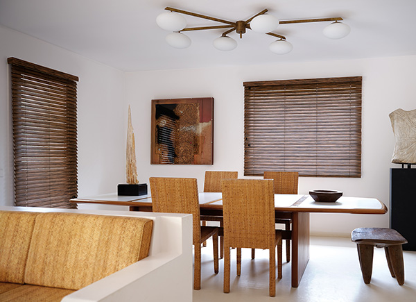 "2"" Exotic Wood Blinds, Color: Ebony"