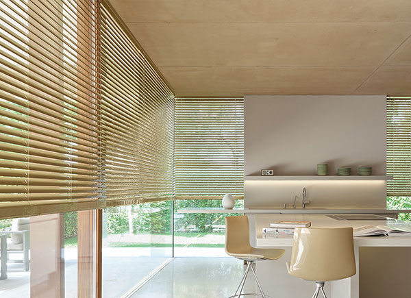 """2"""" Metal Blinds, Champagne"""