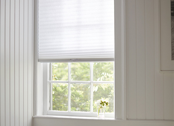 "3/4"" Light Filtering Cellular Shades, Lace"