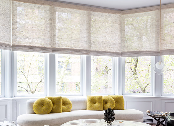 Standard Woven Wood Shades, Material: Seaview