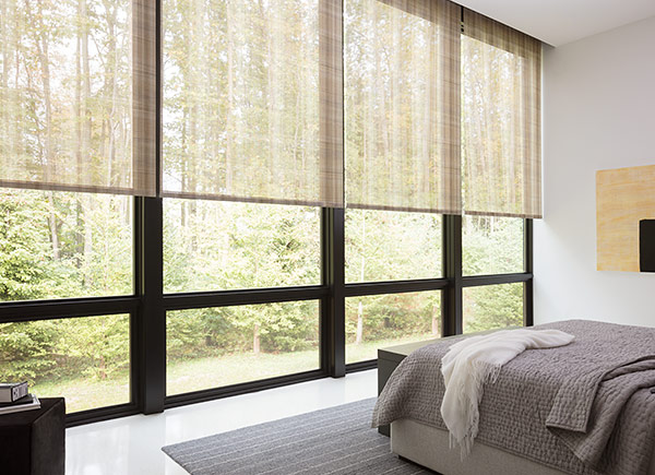 Roller Shades Chilewich Plaid Tan