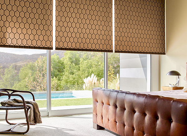 Motorized blinds motorized shades the shade store for Motorized blinds shades