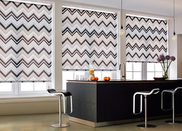 Kitchen Roller Shades