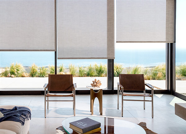 Roller Shades | Chilewich | Basketweave | Oyster