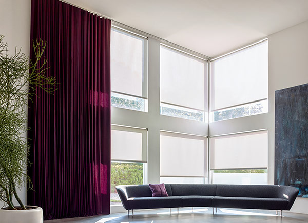 Motorized Blinds And Shades Electric Blinds The Shade