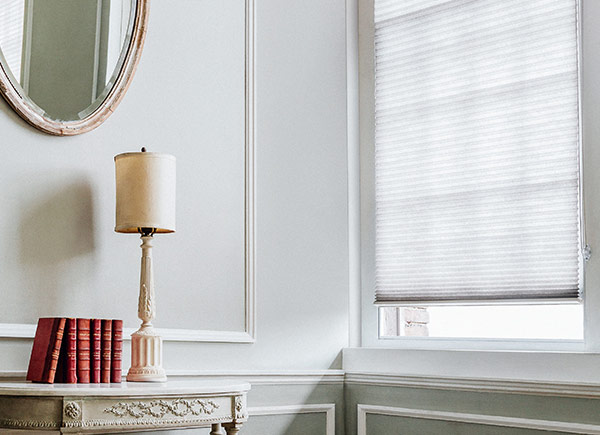 double cell blackout cellular shades