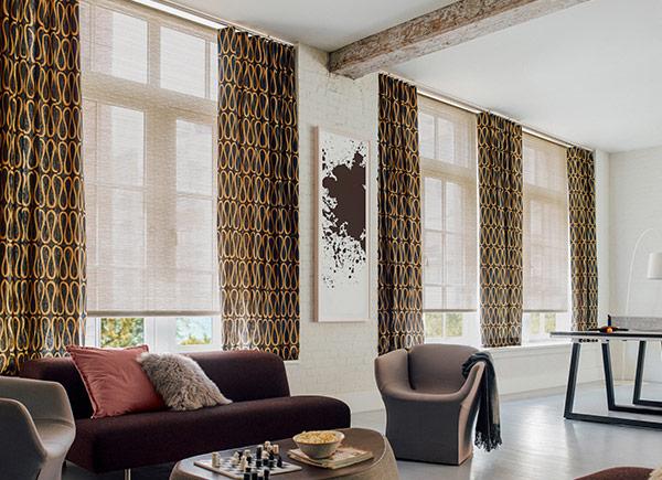 popular ripple fold drapes