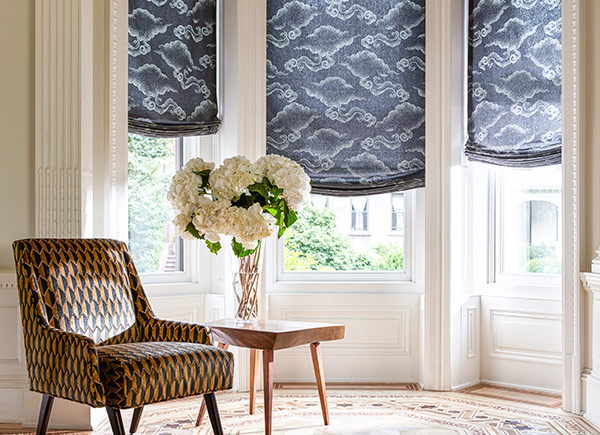 Roman Shades For The Dining Room