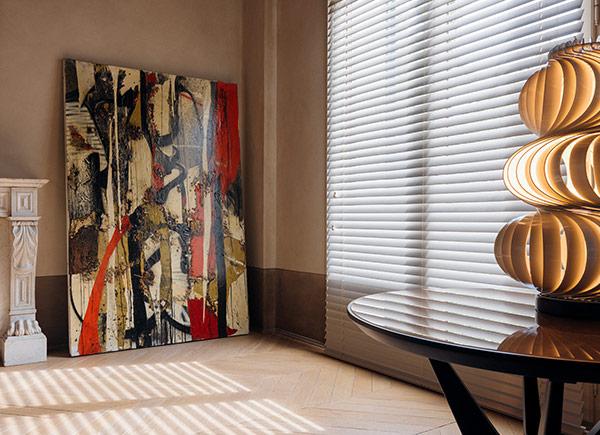 "popular 2"" basic wood blinds"