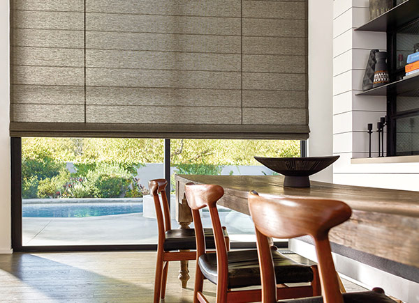 Cascade Woven Wood Shade | Dakota | Charcoal