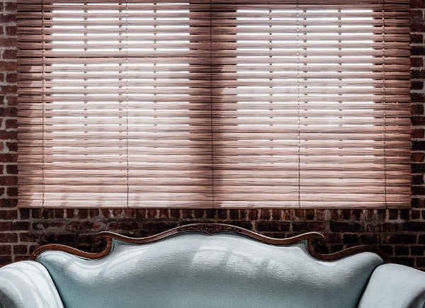 exotic wood blinds