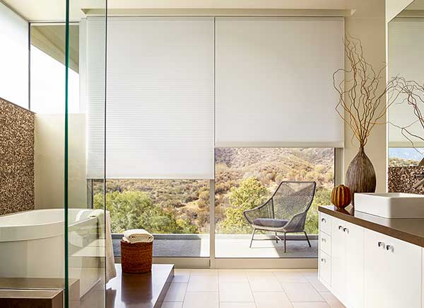 Cellular Shades | 3/8 Double Cell | White