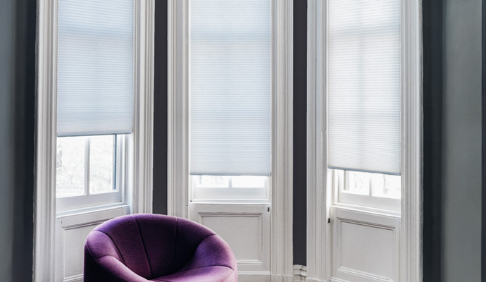 double cell cellular shades
