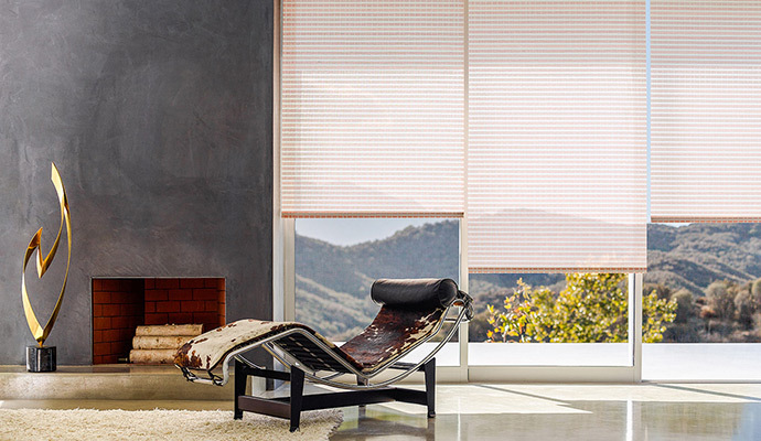 chilewich collection solar shades