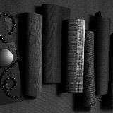 Black Materials for Custom Window Treatments