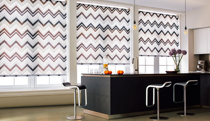 printed roller shade