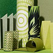 green window treatment ideas
