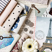 window treatments inspired by Paris
