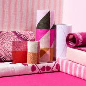 pink window treatment ideas