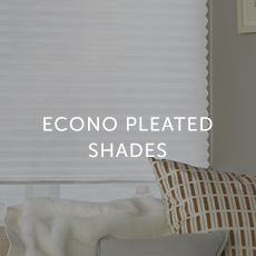 Installation For Econo Pleated Shades
