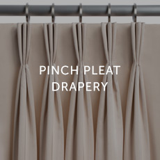 Installation For Pinch Pleat Drapery