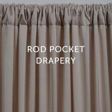 Installation For Rod Pocket Drapery