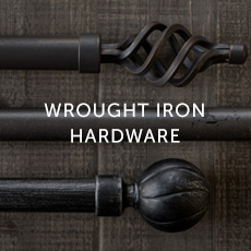 Installation For Wrought Iron Hardware