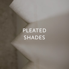 Motorized Pleated Shades