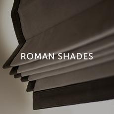 Motorized Roman Shades
