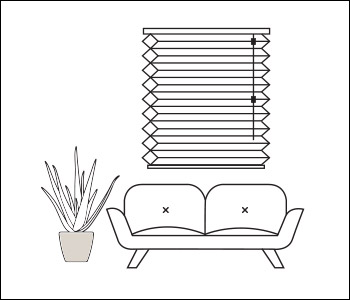 Better Basics Cellular Shades | Beige