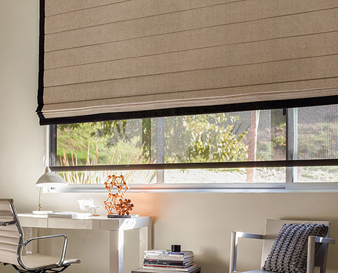 Custom roller shades and blinds the shade store for Window treatment manufacturers
